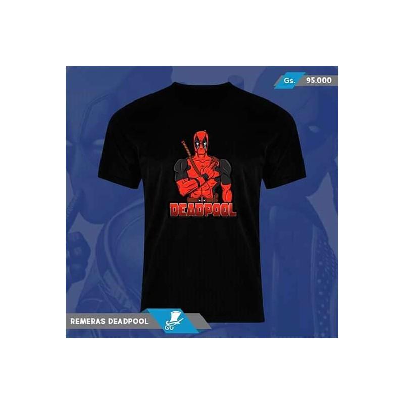 Remera con diseño de Deadpool de GO Diseños 1736b0e6513c4