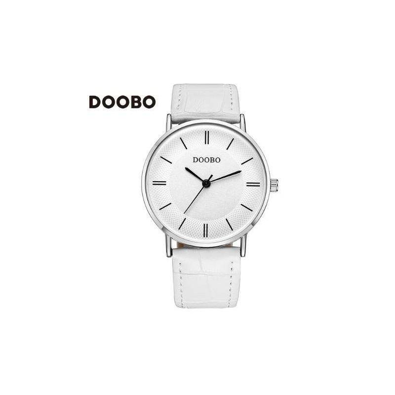 Malla Doobo Cuero Reloj Color Blanco kiOZXPu