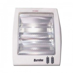 Estufa Bundes a cuarzo BU1404 400W/800W