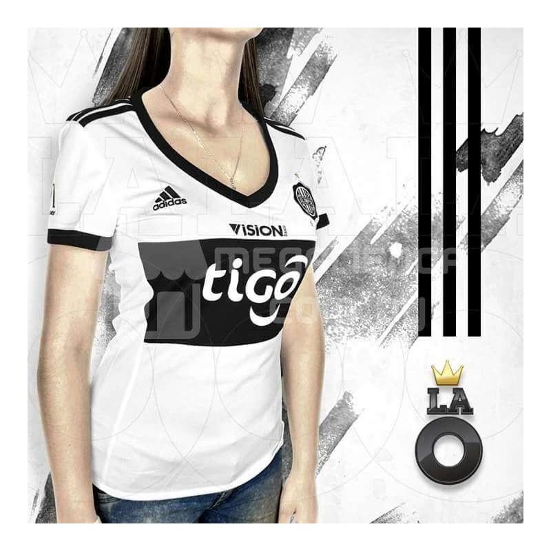 100% autenticado ahorre hasta 80% límpido a la vista Camiseta Oficial Olimpia Para Dama Adidas Original